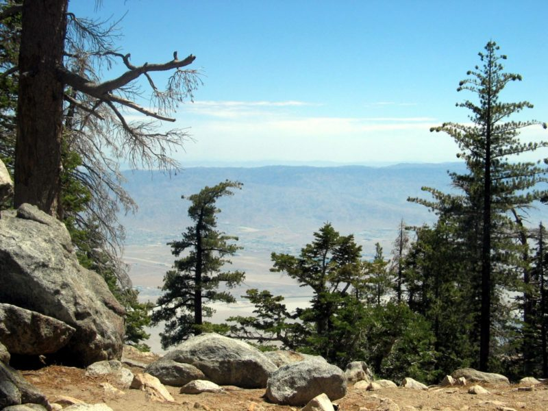 Desert View Trail Offers Scenic Valley Overlooks