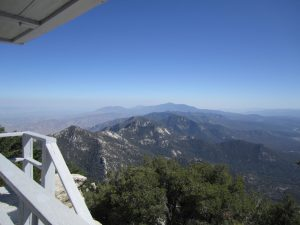 Trail Heads to Fire Lookout Atop Tahquitz Peak