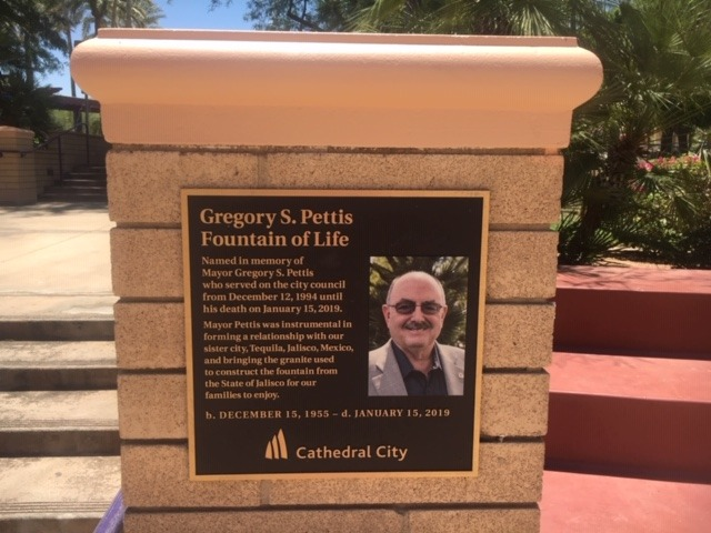 Fountain of Life Memorializes Mayor Pettis