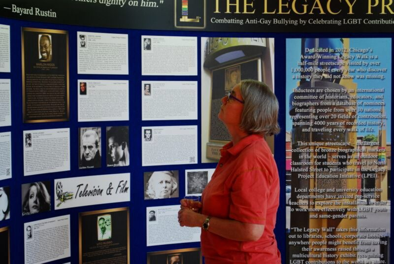 Legacy Wall Showcases LGBTQ Faces of Greatness