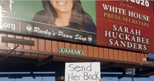 Rally Cry: Send Her Back (Sarah Huckabee Sanders)