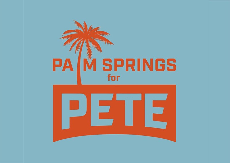 Palm Springs For Pete Prepares for Pride Parade