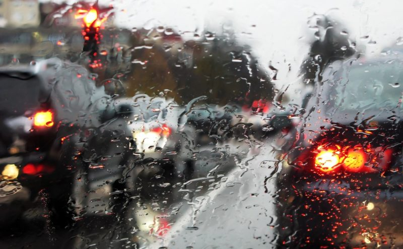 Rain is Forecast: Slow Down, Drive Cautiously