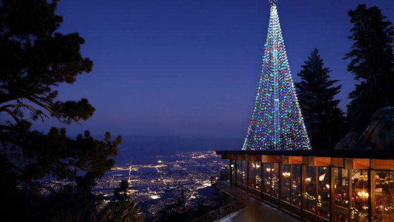 Tree Lighting Ceremony Set at Aerial Tramway