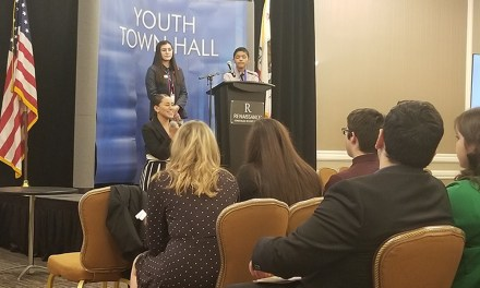 Students Participate in Desert Town Hall