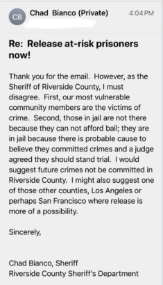 Did Sheriff Chad Bianco Really Say That?