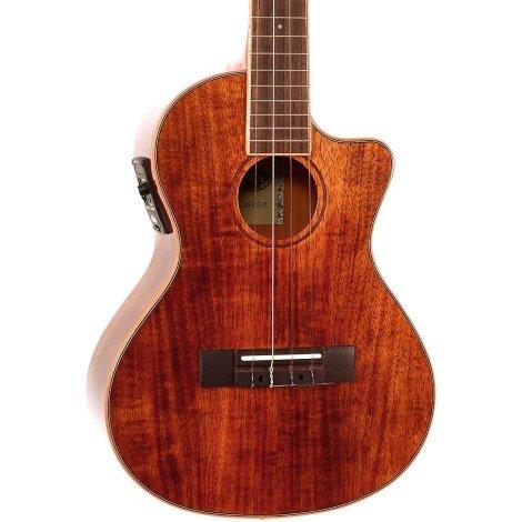 kala koa tenor cutaway electro ukulele
