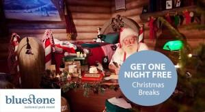 Bluestone Christmas Breaks from £319 plus extra night FREE