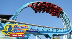 Drayton Manor Theme Park Save 36% off Ticket Price