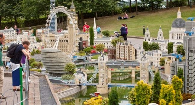 Legoland London Display