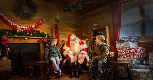 Meet Santa at Alton Towers