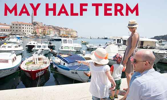 Save 25% Off May Half Term Holidays