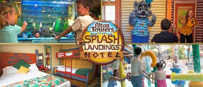 Splash Landing Hotel at AltonTowers