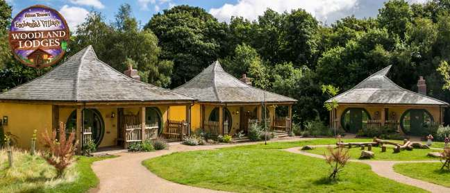 Woodland Lodges at Alton Towers