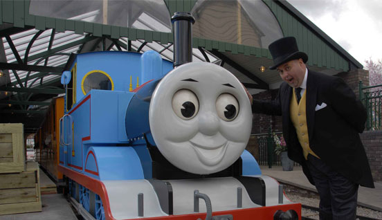 Thomas the Tank Engine and his friends.