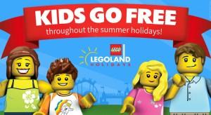 Legoland Kids go FREE Summer Offer