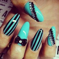 30 Unique Stiletto Nail Designs 2015