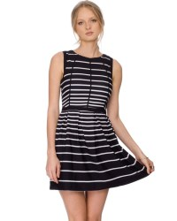 21 New Styles Stripe Prom Dress for dinner Party 2015