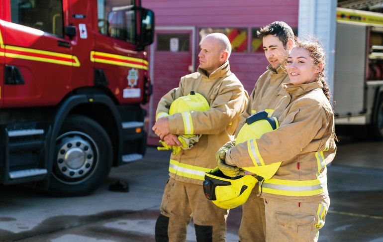 HFRS firefighters stand ready to protect their local communities.