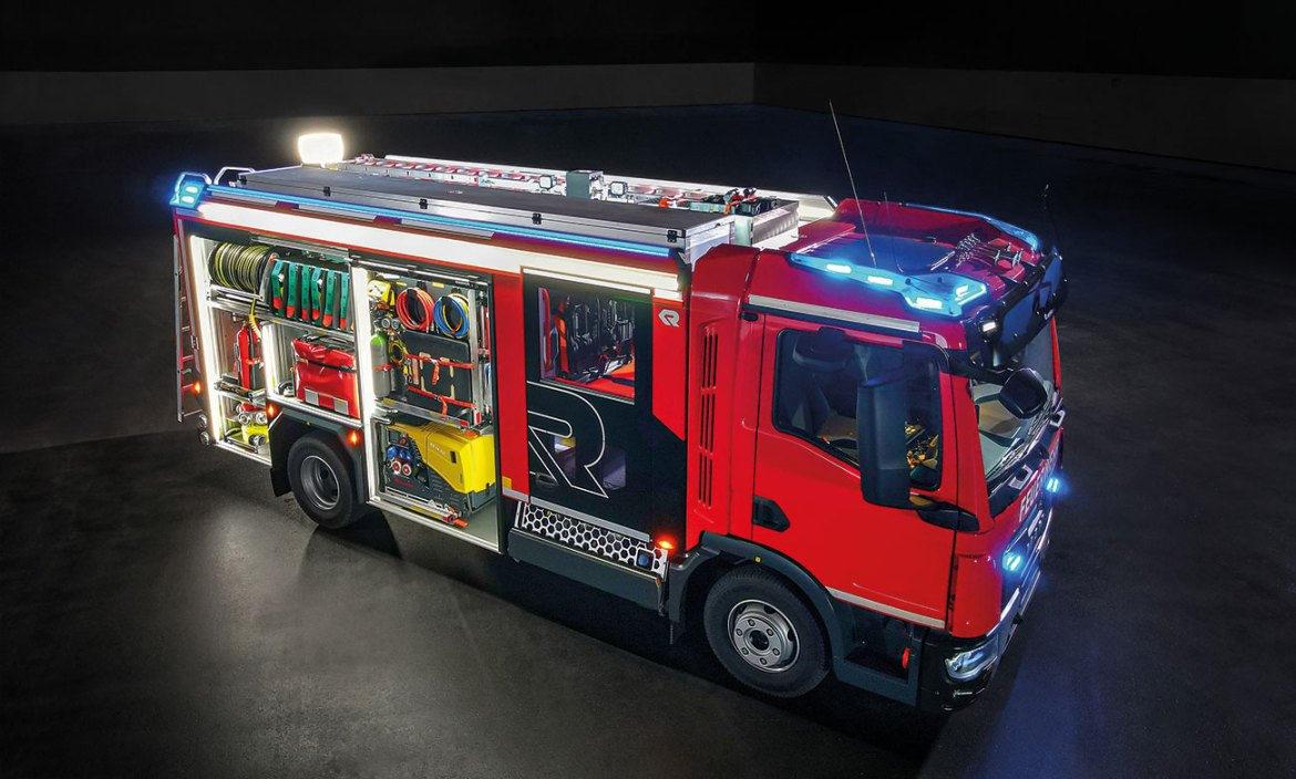 When developing the CT frame we had one goal in mind: maximise the use of space to create the perfect firefighting vehicle for urban environments.