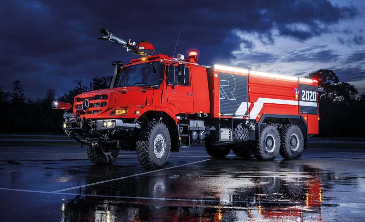 The MT demonstrates how modular construction and modern manufacturing processes can work together to create a truly customisable firefighting vehicle.