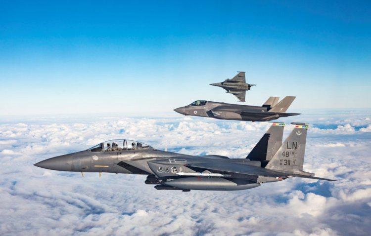 First UK Exercise for RAF F-35 Lightning – Exercise Point Blank