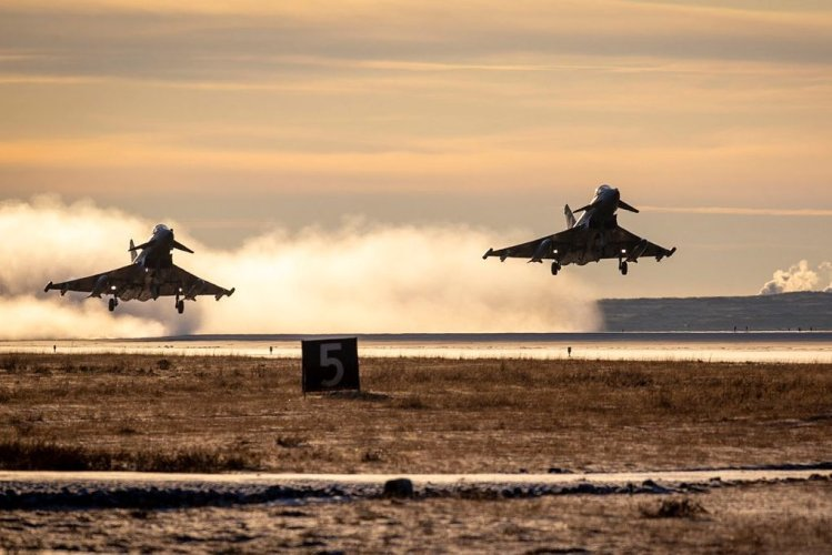 NATO Mission In Iceland | RAF Typhoon Jet Fighters Air Policing