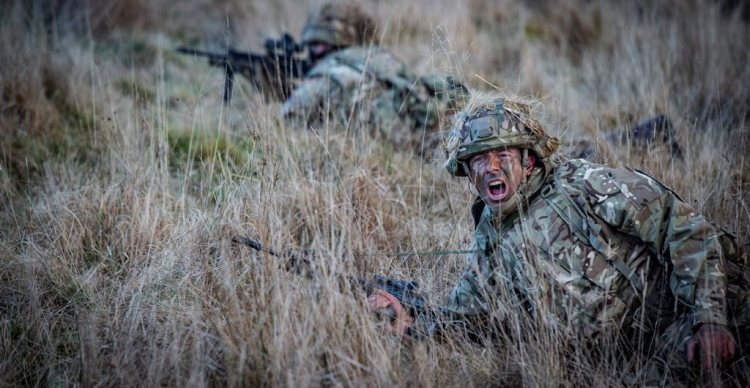 Reservist from 7 SCOTS have been training in Warcop as part of their Annual camp