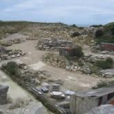 Haysom Quarry at St. Aldhelm's Head