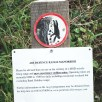 Information sign - cliff walk