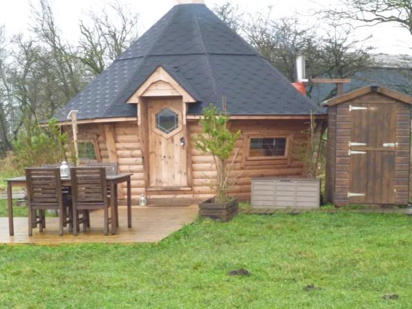 Bilberry Lodge outside