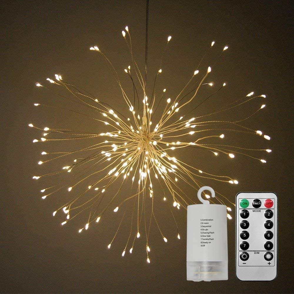 120 Led Fairy lights Starburst Dandelion Light