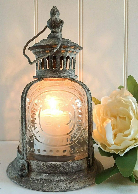 aged lantern