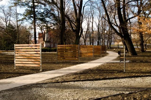 Park Miejski w Głubczycach - luty 2016 (4)