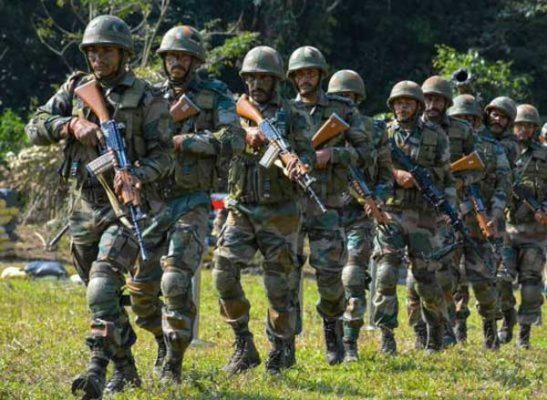 Indian army personnels
