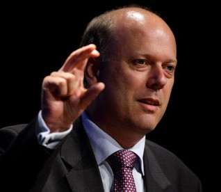 Chris Grayling, justice