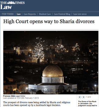 Sharia divorce