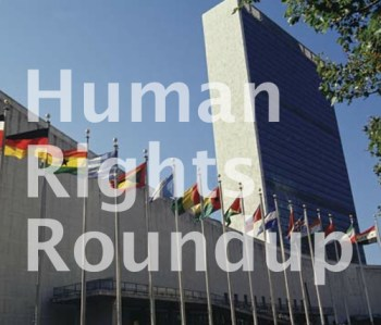 Human rights roundup UN