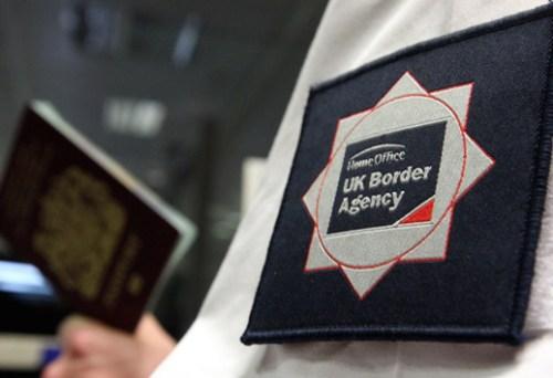 UK Border Agency officer