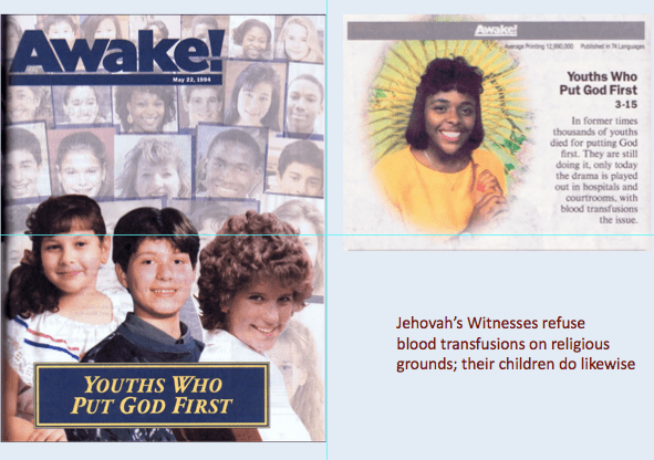 Judge orders blood transfusion for Jehovah's Witness child