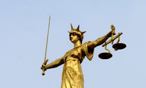 scales of justice Old Bailey