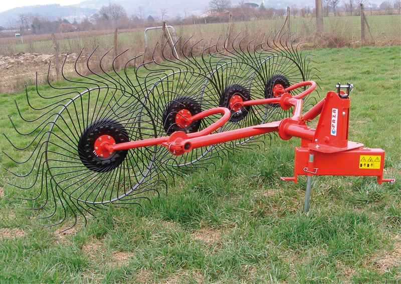 FAZA SIDE DELIVERY RAKE MOUNTED TYPE