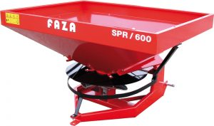 faza rectangular hopper fertilizer spreader spr model