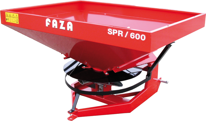 "FAZA Rectangular hopper fertilizer spreader ""SPR"" model"