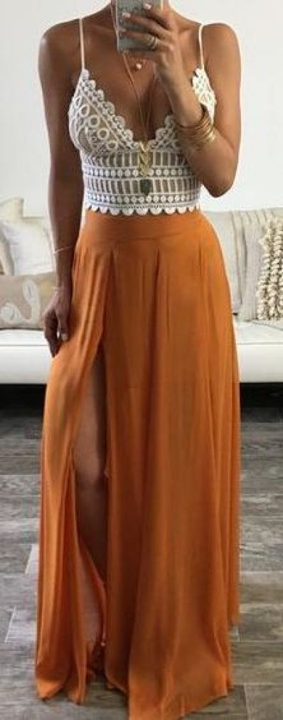 10 High Low Maxi Skirt Outfits To Wear This Summer