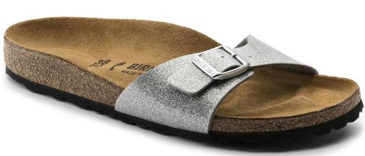 Check out these cute glitter Birkenstocks!