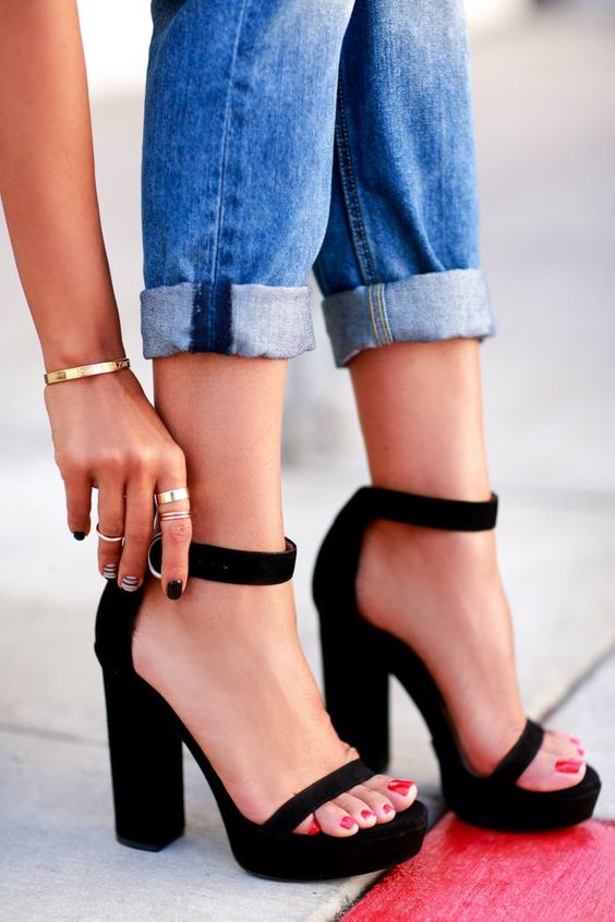 To Walk In High Heels Without
