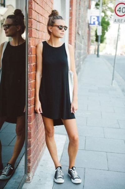 Here are some different ways to wear the classic black dress!