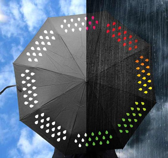 Discover fun umbrellas that will brighten up a dreary day