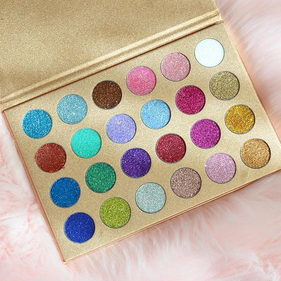 Check out these glitter makeup products!